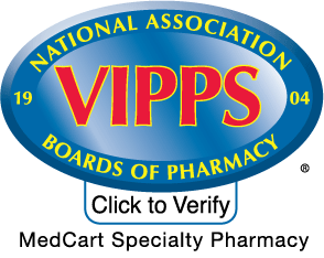 VIPPS national association boards of pharmacy accredited logo